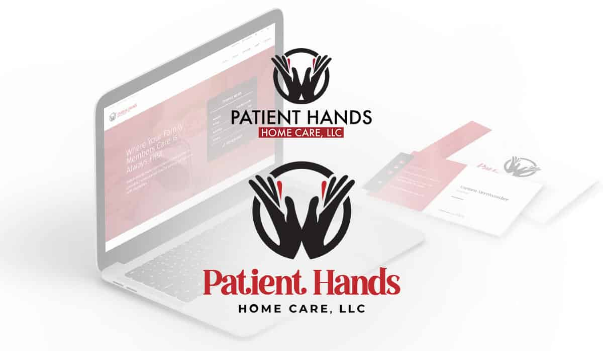 Patient Hands Logo Before and After